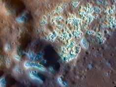 Swiss cheese (like depressions) found on Mercury's surface!