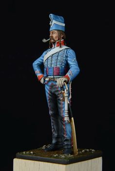 Magnifique réalisation de notre confrère Bernard SABOURIN, à partir de Figurines METAL MODELS.