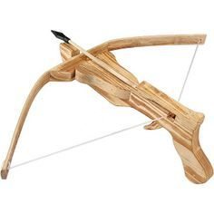 Wooden catapult pistol