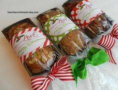 It's Written on the Wall: Add a Christmas Tags to your Homemade Christmas Food Gifts-Made with Love from our Kitchen to Yours-Ding Dongs & Ho Ho's too
