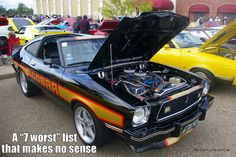 MSCC looks at a 7 worst muscle cars list- read more: mystarcollectorca...