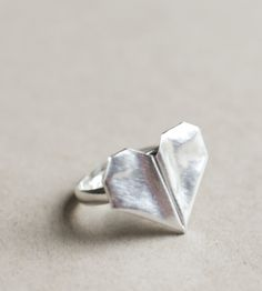Folded Heart Ring | Jewelry Rings | Mitsymoto Designs | Scoutmob Shoppe | Product Detail