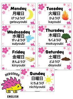 Day In Japanese, Basic Japanese Words, Japanese To English, Japanese Phrases, Japanese Culture, How To Study Japanese, Japanese Language Lessons, Korean Language Learning, Learn Japanese Beginner