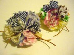 ふわふわマルチカラーお花バレッタの作り方|その他|ファッション小物