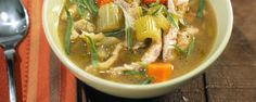 Turkey Spaetzle Stew by Michael Symon on The Chew.  This turkey stew is a delicious dish for a cold day!