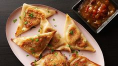 Get great Indian samosa flavors fast with Betty Crocker™ mashed potatoes and easy wonton wrappers.