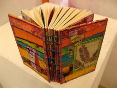 a coptic journal by Smallest Forest, via Flickr