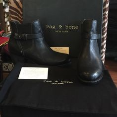 Rag & bone boots brand new Rag & bone boots brand new never worn. Box was recently damaged and price ️️️reduced . Comes with dust bag and box. No pay pal or trades. Price firm. rag & bone Shoes Ankle Boots & Booties