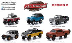 Greenlight M2 Machines Auto World Hot Wheels more Whats New In Diecast : GREENLIGHT 35020 ALL TERRAIN 1:64 SERIES 2 SET OF ...