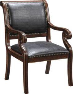 Rivington Black Accent Chair