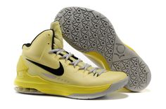 Nike Zoom KD V 5 ID Tartrazine Yellow Black 554988 700 Kevin Durant Shoes 2012