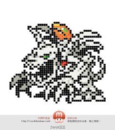 Digimon Perler Bead Pattern