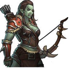 Fantasy Races, Fantasy Warrior, Fantasy Rpg, Fantasy Girl, Fantasy Artwork, Dark Fantasy, Dungeons E Dragons, Dungeons And Dragons Characters, Dnd Characters