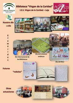 Servicios, programas y actuaciones de la biblioteca escolar del IES Virgen de la Caridad de Loja, vía Mª Antonia Ramírez