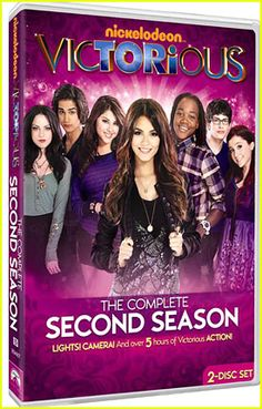 Just bought the Victorious season 2 dvd from Ebay, I can't wait for it to arrive so I can watch it! :D