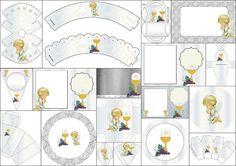 Ideas y material gratis para fiestas y celebraciones Oh My Fiesta!: Primera Comunión: Etiquetas para Imprimir Gratis.