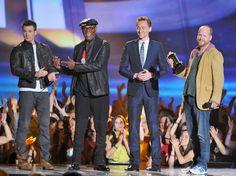 MTV Awards 2013 ~ Chris Evans, Samuel L. Jackson, Tom Hiddleston and Joss Whedon