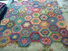 Krowshay D'Zine: Granny Square, Hexagons and Flower Tutorial