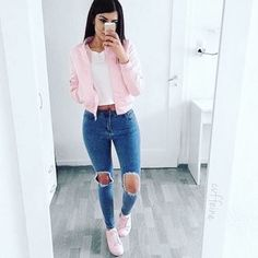 Birthday Outfit Ideas For School Pictures pin on street style Birthday Outfit Ideas For School. Here is Birthday Outfit Ideas For School Pictures for you. Birthday Outfit Ideas For School birthday outfit ideas fo. Mode Outfits, Jean Outfits, Trendy Outfits, Dress Outfits, Dress Ootd, Popular Outfits, Teen Fashion, Fashion Outfits, Womens Fashion