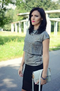 Mohito blouse mlodamamawswieciemody.blogspot.com #mohito