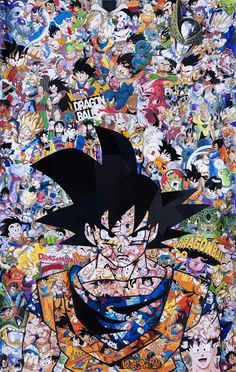 Stickerbomb Goku Pic