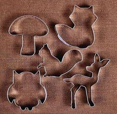 Use our woodland animals cookie cutters set to make fun sugar cookies for birthdays and baby showers! To decorate your cookies, check out our large selection of