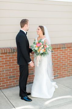 First look | Albany Wedding Photography // Krystal Balzer Photography