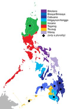 """pag-asaharibon: """" In the Philippines, there are between 120 and 175 languages, depending on the method of classification. Four languages no longer have any known speakers. Almost all the Philippine languages belong to the Austronesian language. Les Philippines, Philippines Culture, Philippine Map, Filipino Culture, Filipino Tattoos, Tagalog, Thinking Day, Palawan, How To Speak Spanish"""
