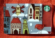 Snowy and cozy. #StarbucksCard