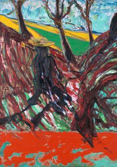 'Study for Portrait of Van Gogh VI' (1957), Francis Bacon