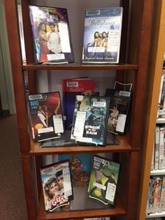 Dance the night away with these movies, instuctional video and books display at the Plainville Public Library