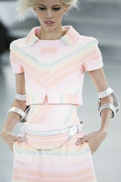 Chanel Pastels Spring/summer 2014-15 Couture