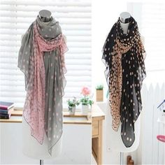 2017 New Fashion Lady Women's Long Candy Beautiful Colors Scarf Wraps Shawl Stole Soft Scarves CH139-2 #Affiliate