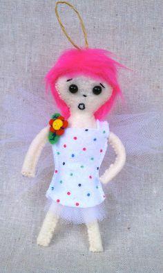 Mini Pixie Doll Screamy by MsBittyKnacks on Etsy, $20.00