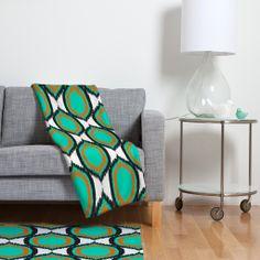 Rebecca Allen So Vintage Fleece Throw Blanket   DENY Designs Home Accessories