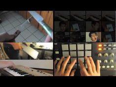 Fazendo música com 10 objetos de casa