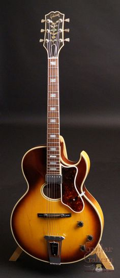 1940s epiphone saltwater fishing sharks tips and gibson howard roberts custom archtop guitar birdseye maple back sides arched back gorgeous traditional tobacco sunburst all over laminated ar