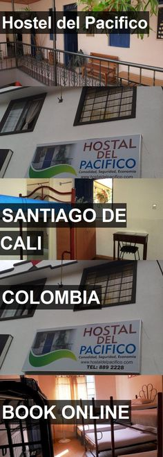 Hotel Hostel del Pacifico in Santiago de Cali, Colombia. For more information, photos, reviews and best prices please follow the link. #Colombia #SantiagodeCali #HosteldelPacifico #hotel #travel #vacation