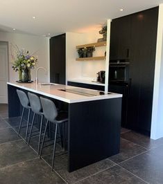 Future House, My House, Kitchen Living, Interior Inspiration, Kitchen Design, Decoration, Sweet Home, New Homes, Interior Design