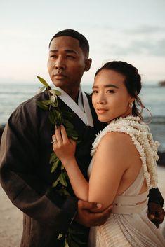 Korean Hawaiian Elopement with a Traditional Ceremony – Alyssa Luzaich Photography – Kukio Beach – Bridal Musings 55