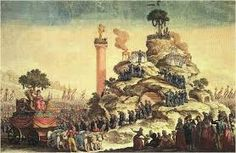 Festival of the Supreme Being at the Champs-de-Mars My Past Life, French Revolution, Epoch, Political Cartoons, History, Supreme, Painting, Champs, Mars