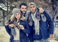 The Sperry brand was born for beach-lovers, but it's impossible to say that Top-Sider style isn't also cut out for winter. Perfect for young people who love to dress casual, show their personality and exhibit good taste.