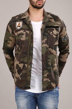 61b9d7592d9b REDBRIDGE Herren Jacke Übergangsjacke Militär Army Camouflage Urgent Duty  Jacket