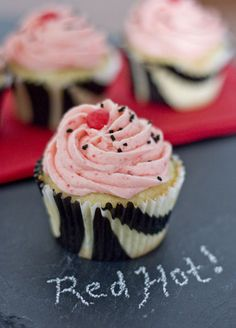Erica's Sweet Tooth » Red Hot Cupcakes