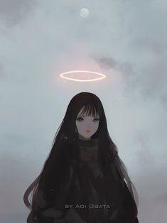 🌕, Aoi Ogata on ArtStation  Pinterest: B I N (ノ◕ヮ◕) √ 
