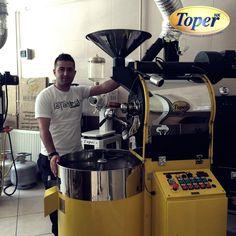 Sheriff's Coffee Factory - Turkey #toper #toperroasters #coffee #coffeeroasters #coffeefactory #kahvefabrikası