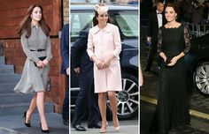 A selection of the most stylish fashion choices by Catherine, Duchess of Cambridge, over the years. Looks Kate Middleton, Duchess Of Cambridge, High Low, Dresses With Sleeves, Stylish, Long Sleeve, Fashion, Dress Ideas, Vestidos