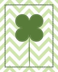 The Latest Find's Make It Create - DIY, Tutorials, Recipes, Digital Freebies: Chevron St. Patrick's Day Printable