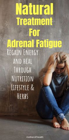 Here you'll learn about natural treatment for adrenal fatigue including nutrition, lifestyle & herbs because it might just be what's making so feel so tired Fatiga Adrenal, Signs Of Adrenal Fatigue, Adrenal Fatigue Treatment, Adrenal Health, Adrenal Glands, Symptoms Of Adrenal Fatigue, Chronic Fatigue, Chronic Illness, Natural Treatments