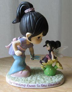 Precious Moments OUR FRIENDSHIP TO NEW ADVENTURE Disney Fairies Magic Figurine   eBay